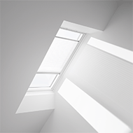 Electric Powered Pleated Blind Velux Fml